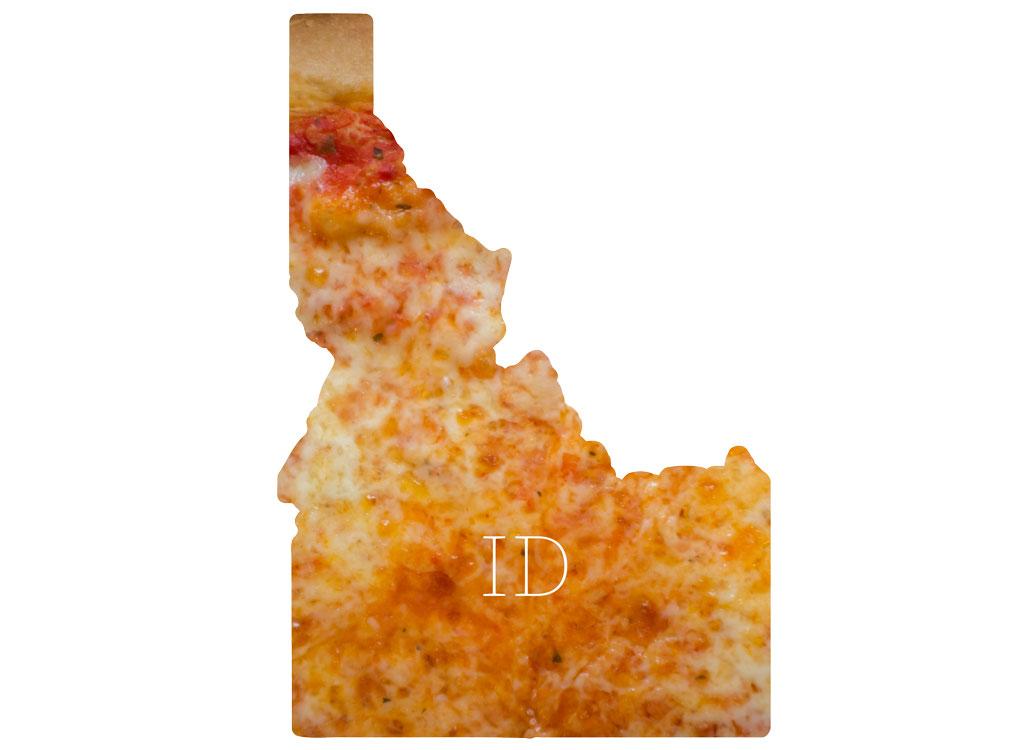 Idaho cheese pizza