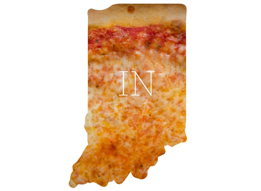 Indiana cheese pizza