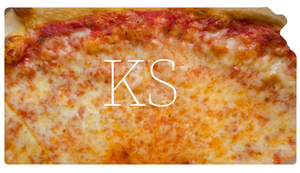 Kansas cheese pizza