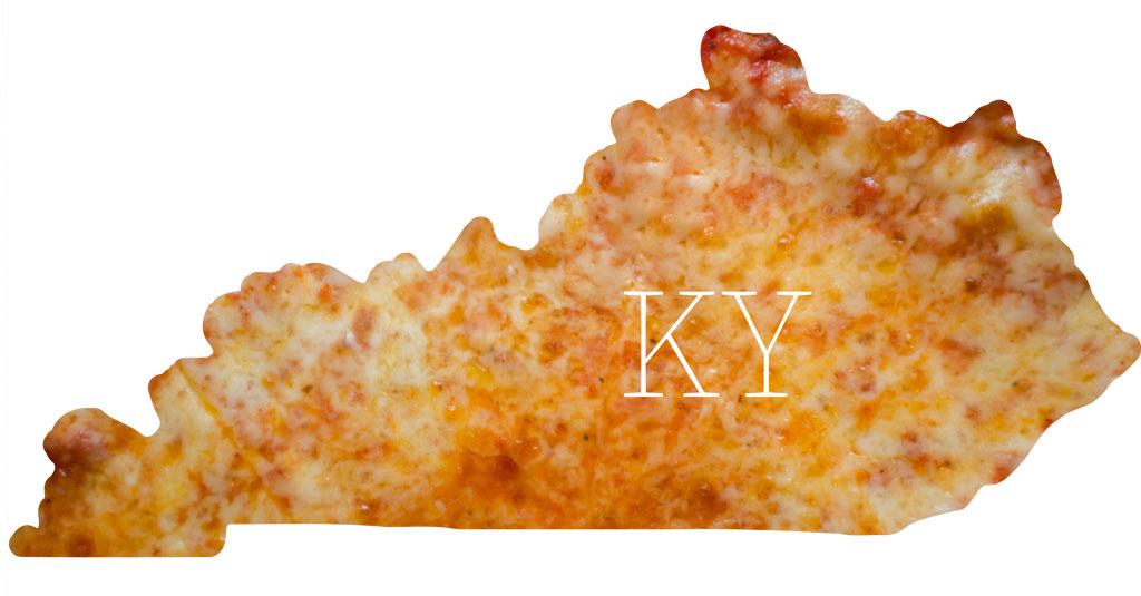 Kentucky cheese pizza