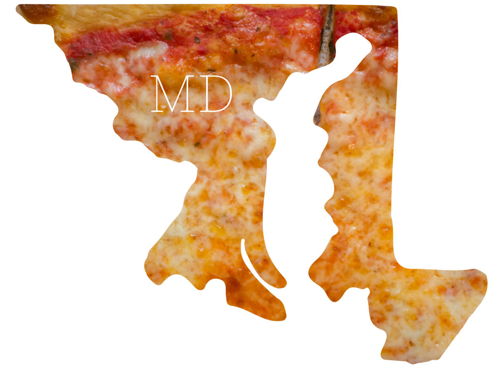 Maryland cheese pizza
