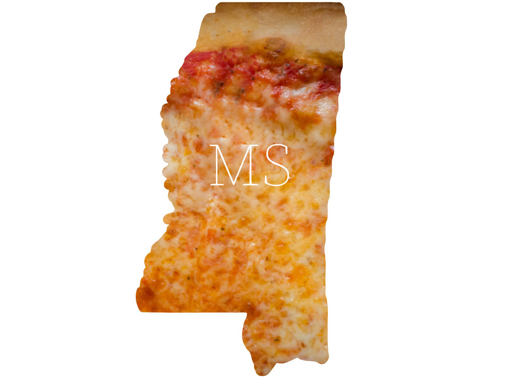 Mississippi cheese pizza