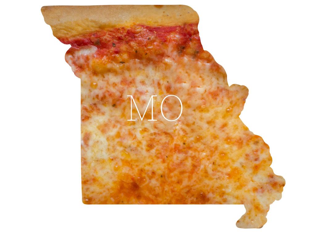 Missouri cheese pizza