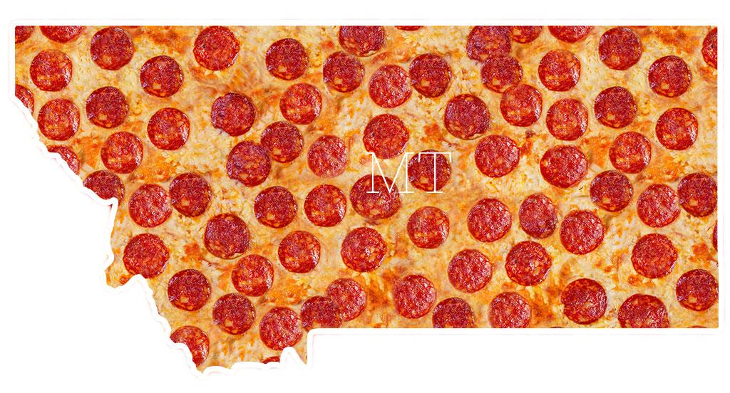 Montana pepperoni pizza