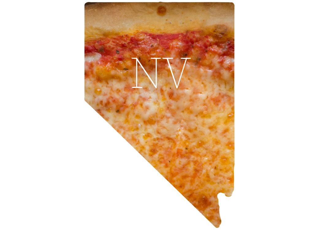 Nevada cheese pizza