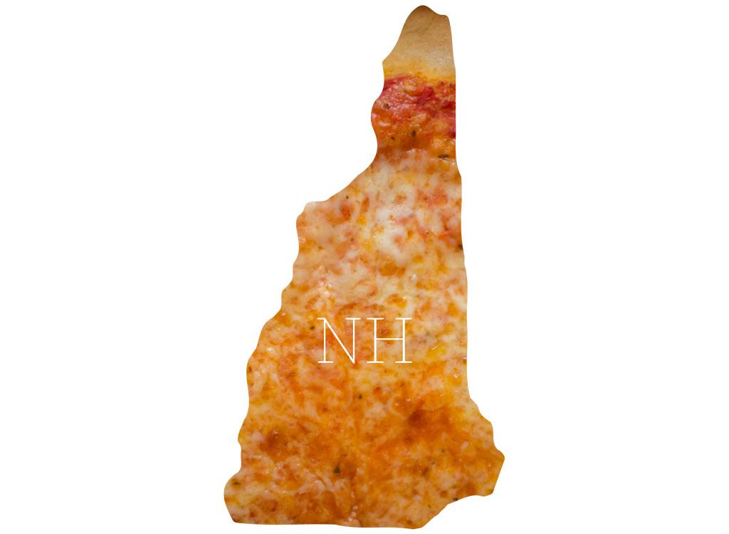 New Hampshire cheese pizza