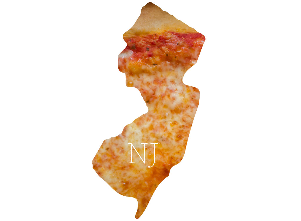 New Jersey cheese pizza