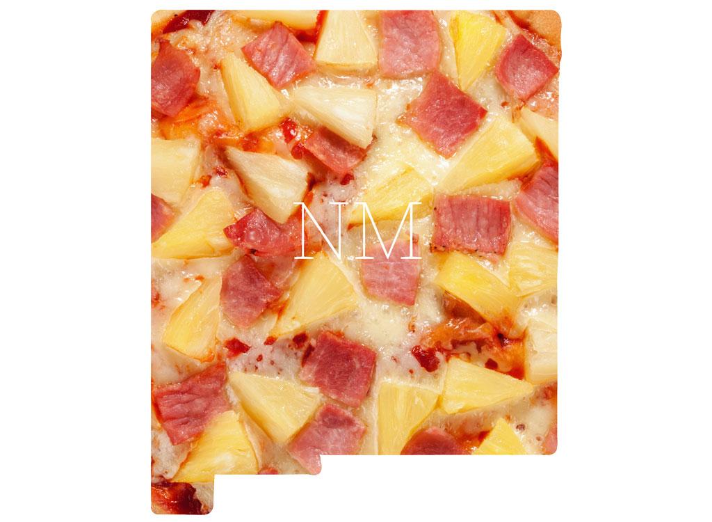 New Mexico Hawaiian pizza