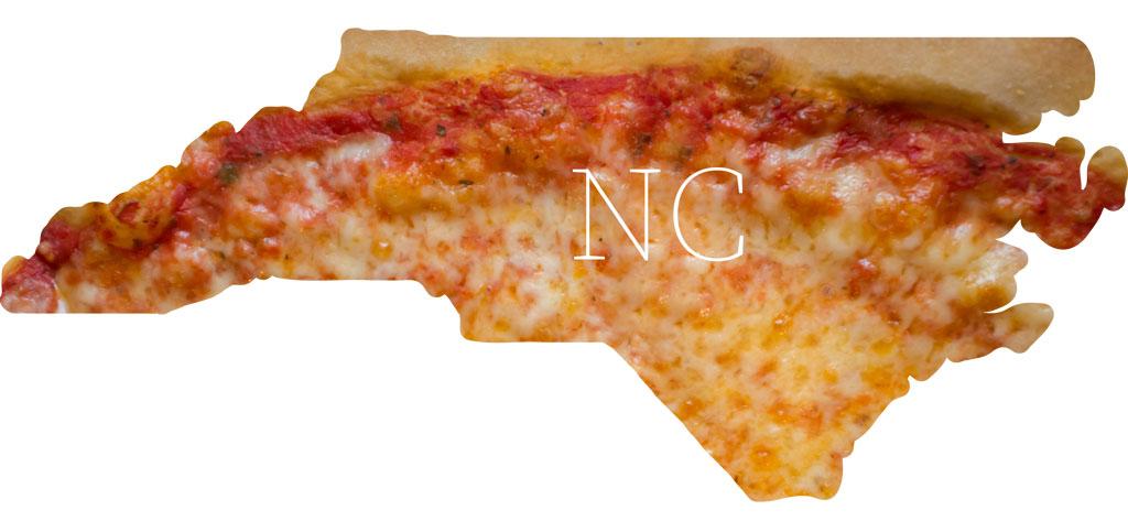 North Carolina cheese pizza