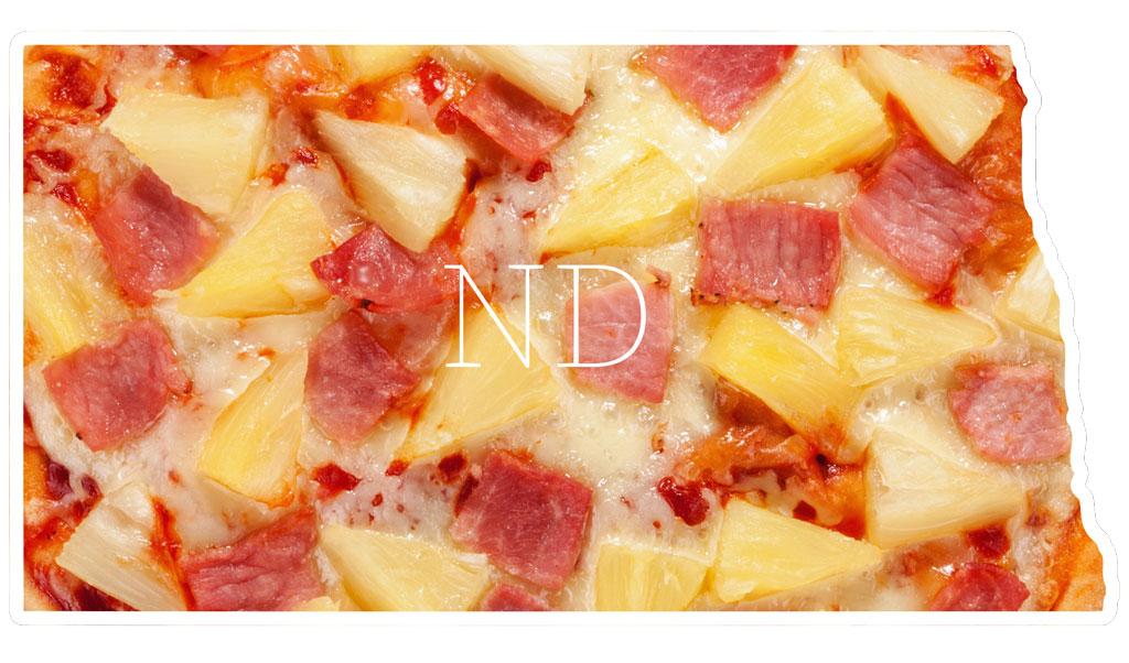 North Dakota Hawaiian pizza
