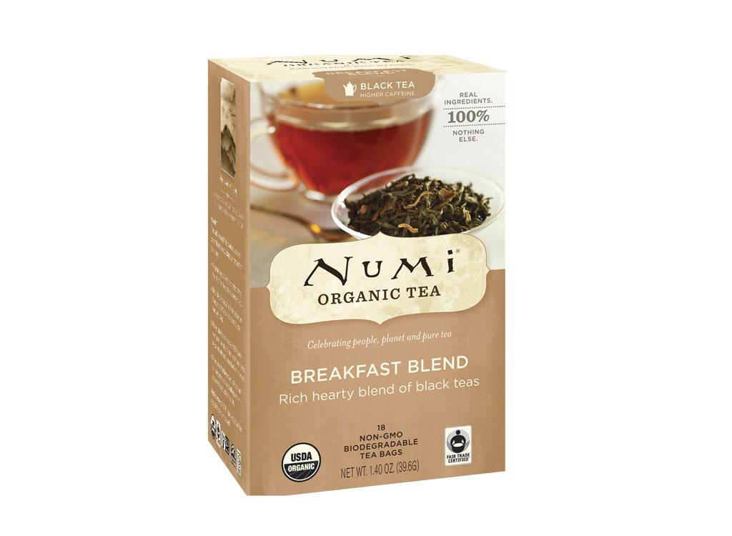 Numi black tea