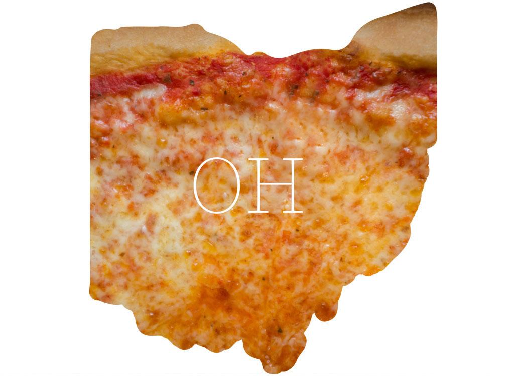 Ohio cheese pizza