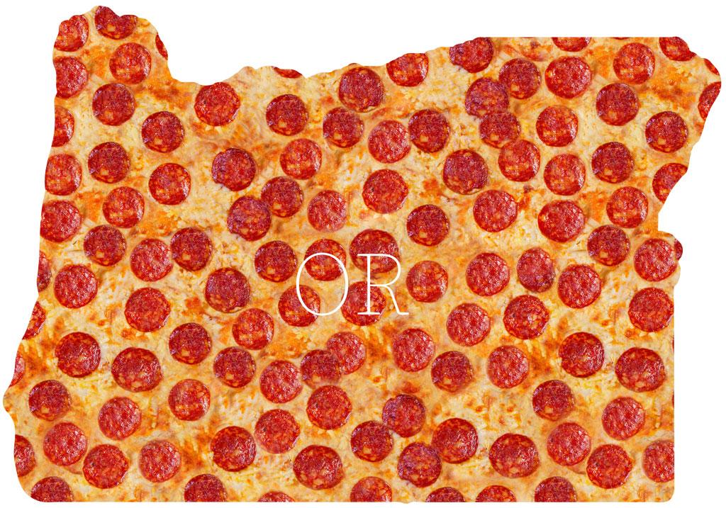 Oregon pepperoni pizza