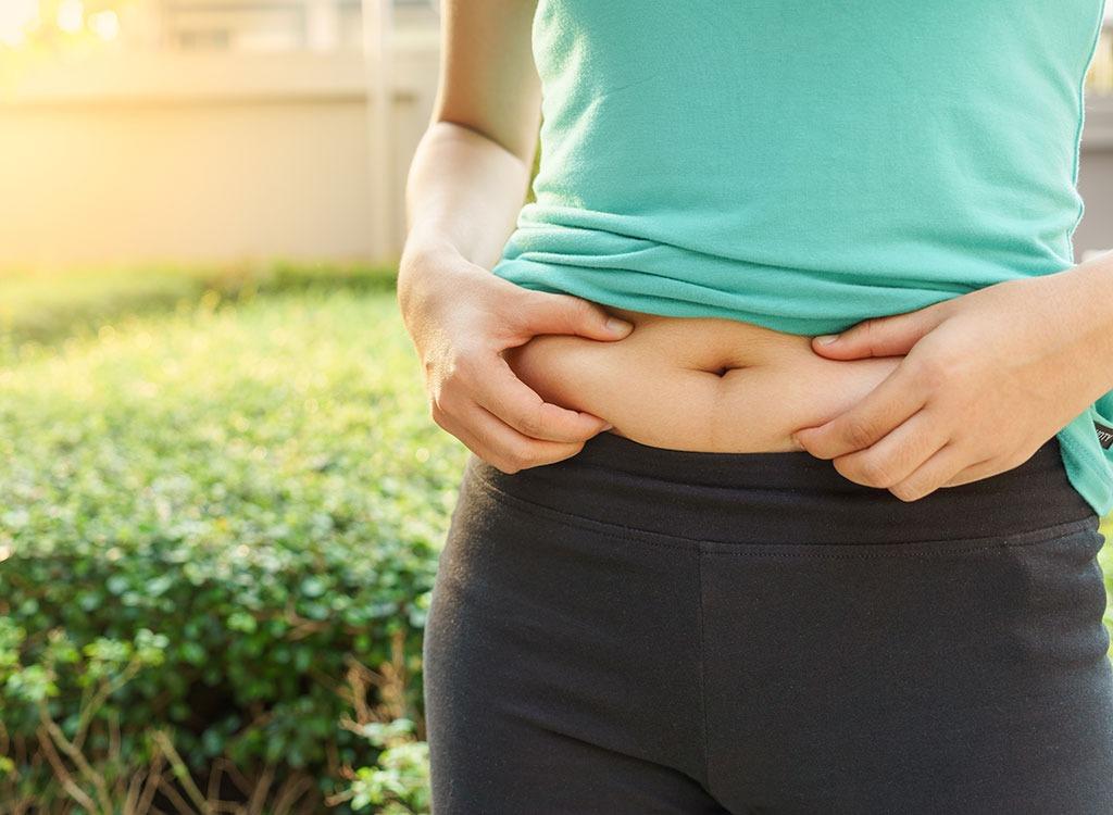 pinch belly fat