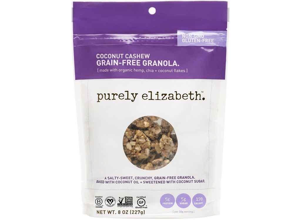 Purely Elizabeth Coconut Cashew Grain-Free Granola