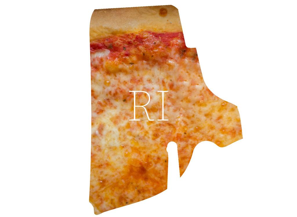Rhode Island cheese pizza