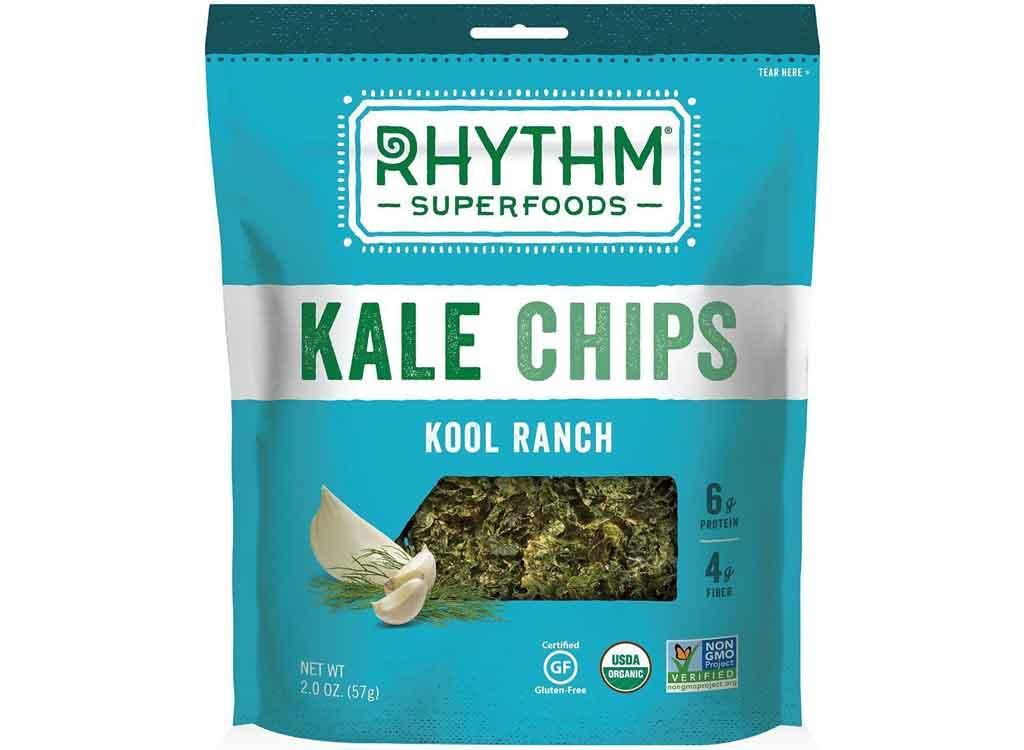 Rhythm Foods Kale Chips, Kool Ranch
