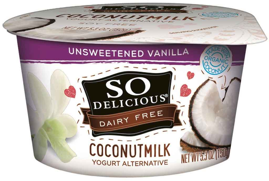 So Delicious Dairy Free Unsweetened Vanilla Yogurt Alternative