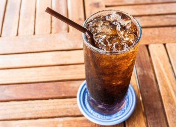 Soda glass