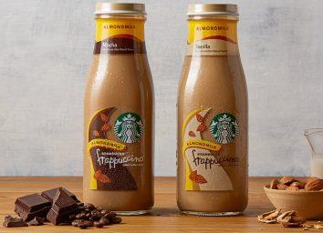 Starbucks almondmilk frappuccinos
