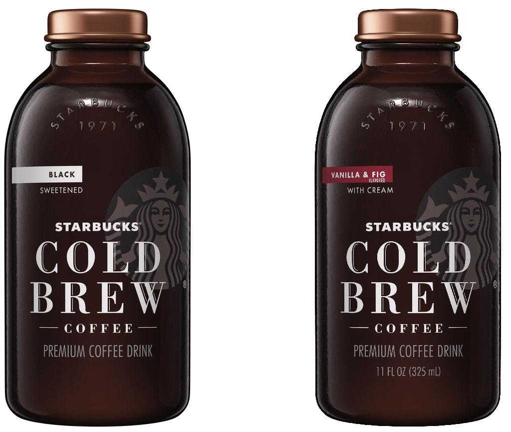 Starbucks new cold brew flavors