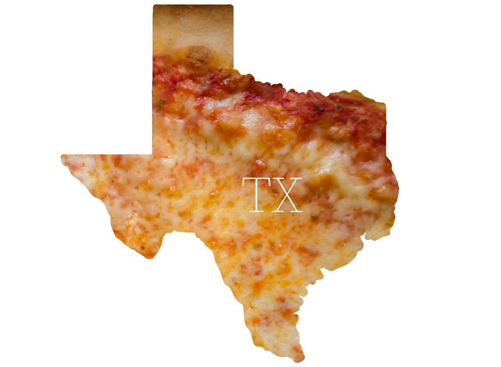 Texas cheese pizza