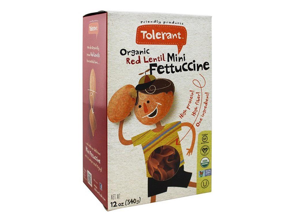 Tolerant Organic Red Lentil Pasta