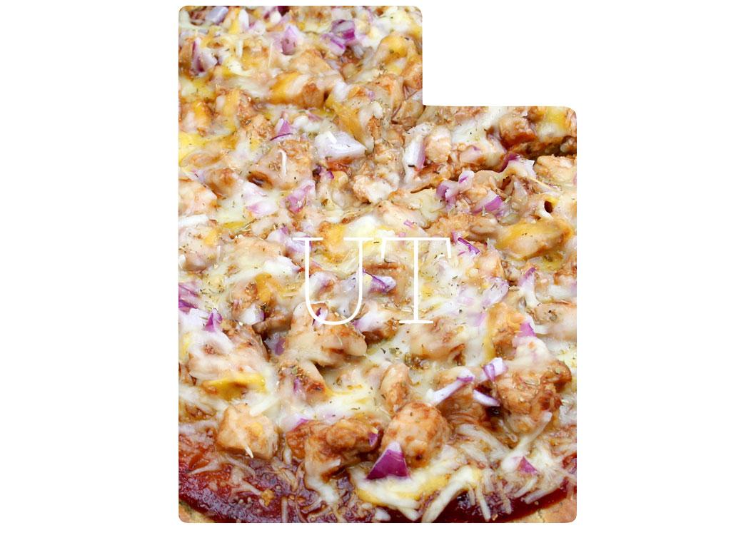 Utah cheese pizza