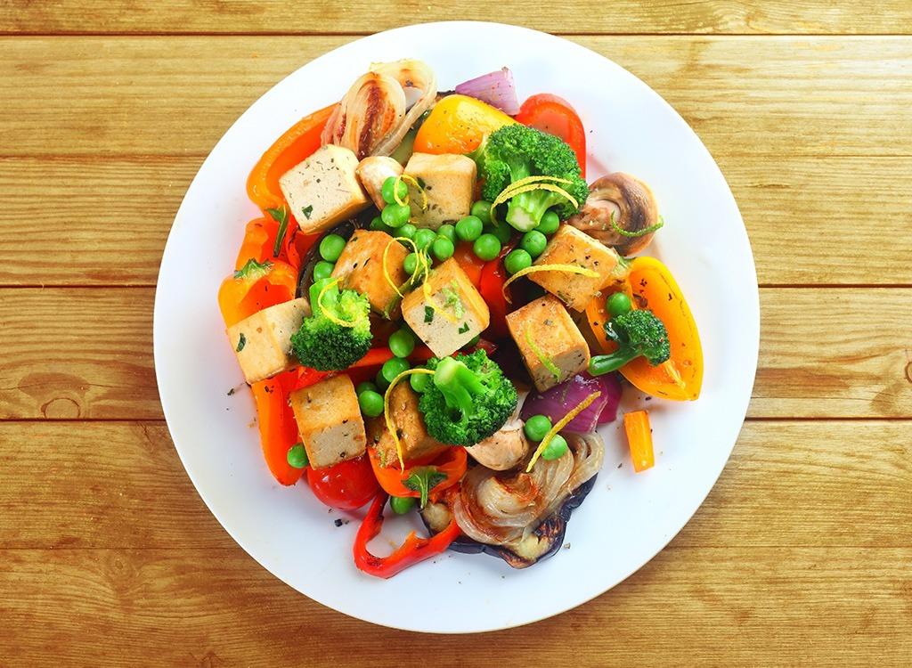 Vegetables plate