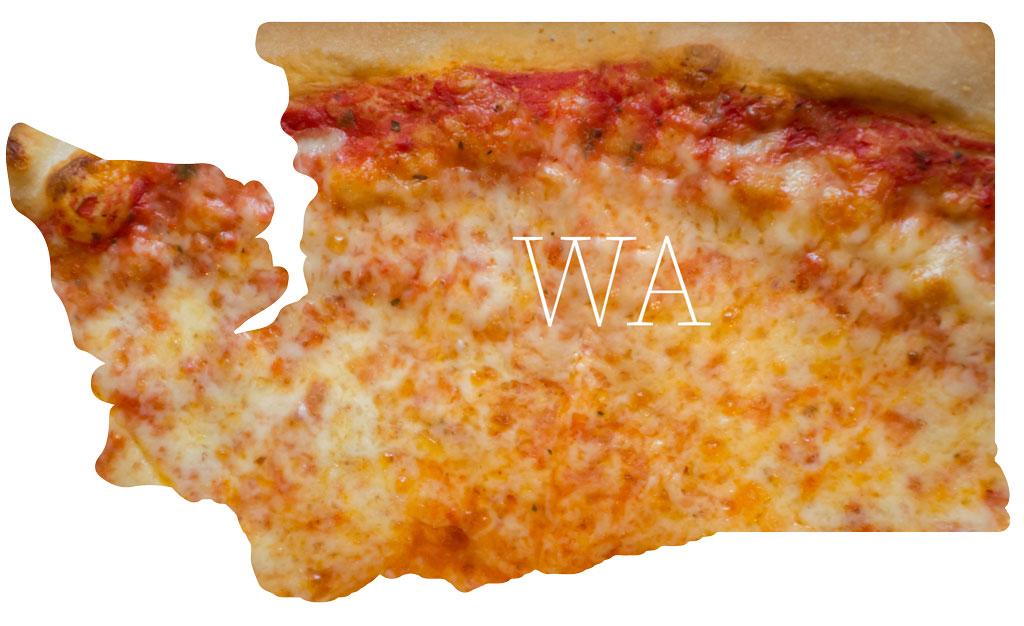Washington cheese pizza