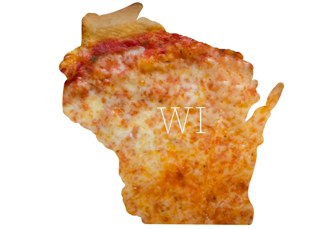 Wisconsin cheese pizza