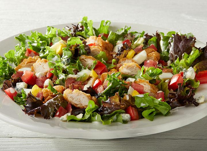 IHOP chicken cobb salad as one of the unhealthiest restaurant salads