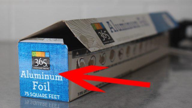 Aluminum foil tabs