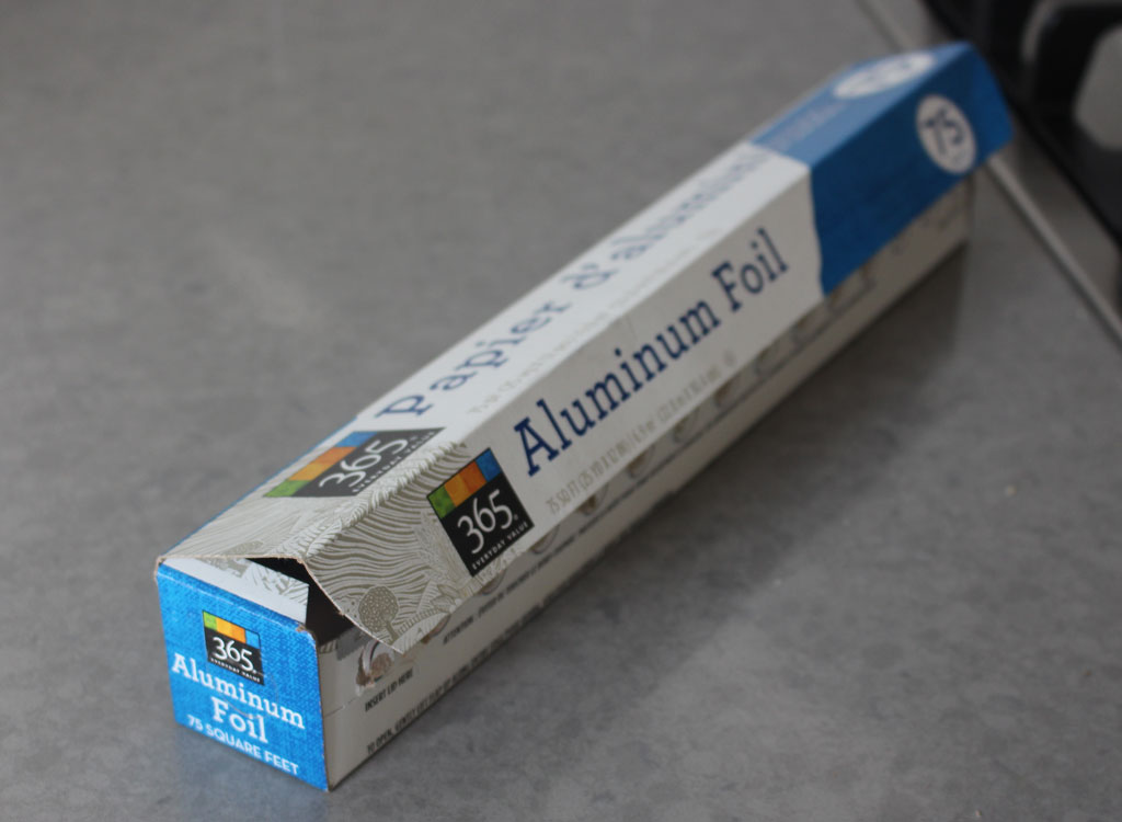 Aluminum foil box