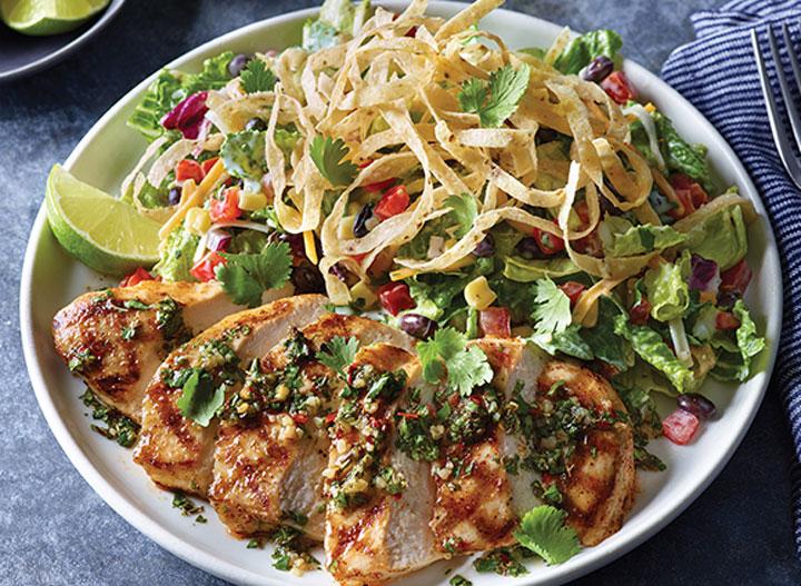 Applebees southwest salad