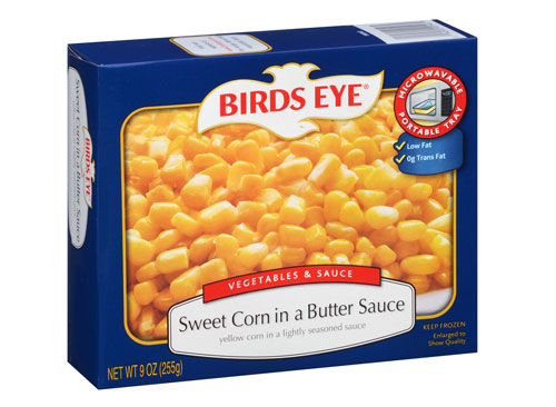 Birds eye corn sweet butter sauce