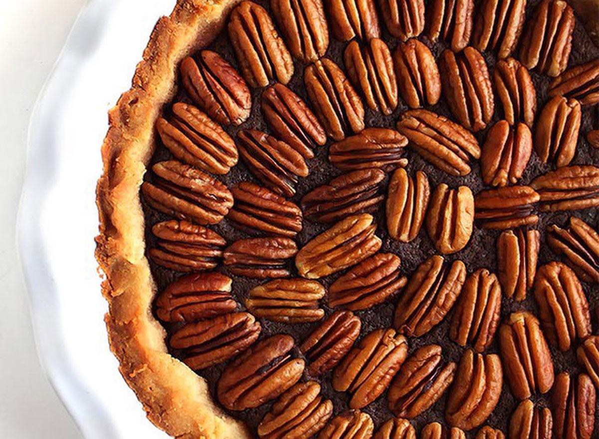 Gluten free chocolate pecan pie