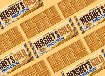Hersheys gold bar