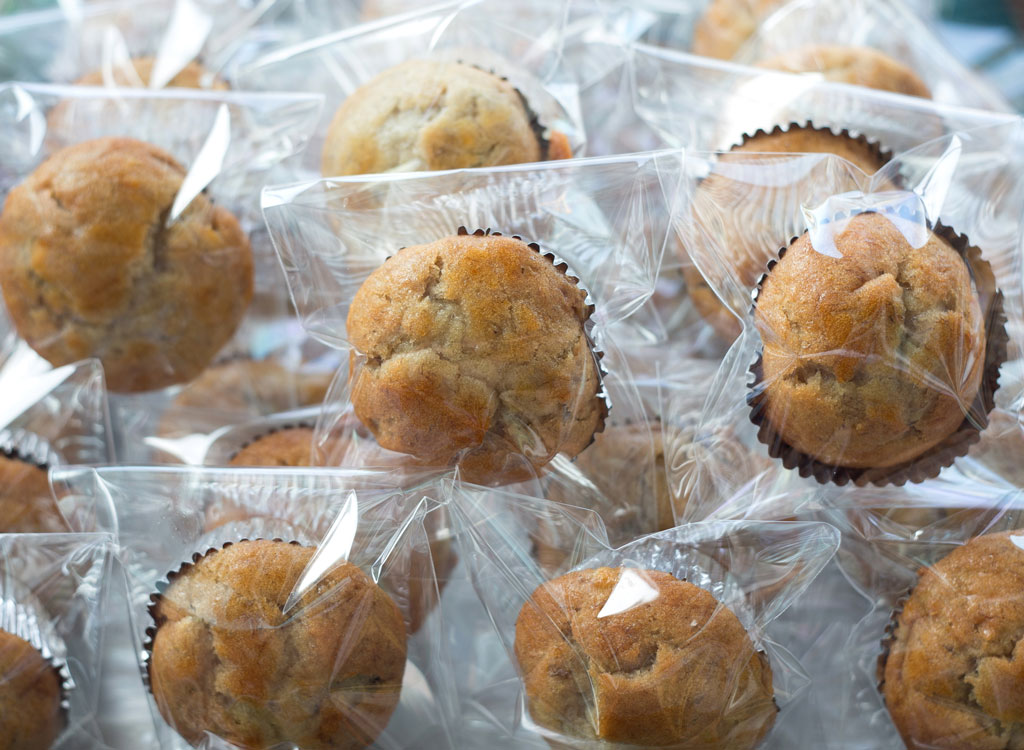 packaged muffins