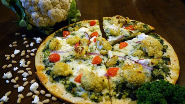 Pizza Rev cauliflower crust pizza