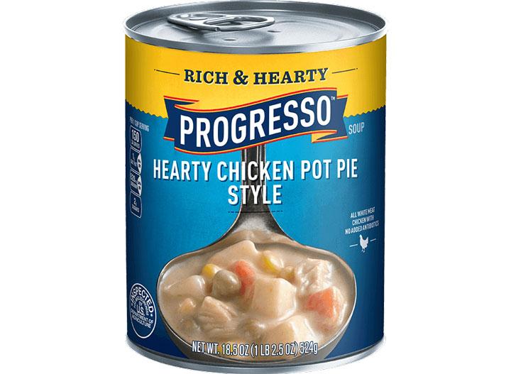 Progresso chicken pot pie
