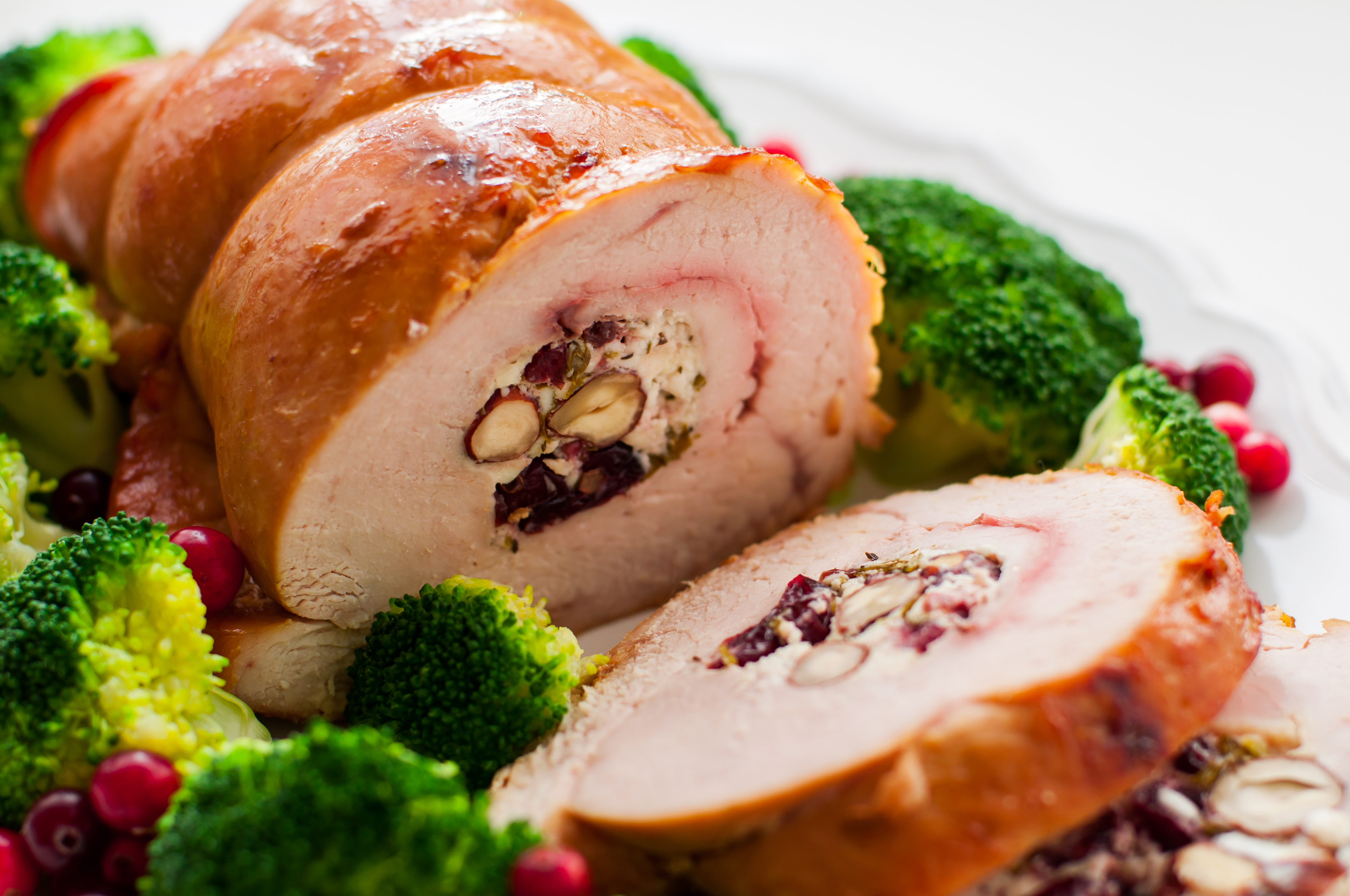 Turkey roll up