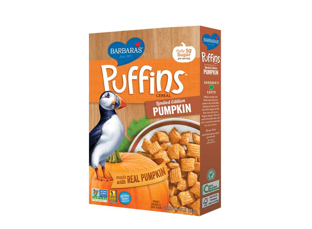 Barbara pumpkin Puffins