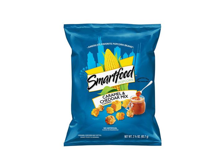 smartfood cheddar caramell popcorn