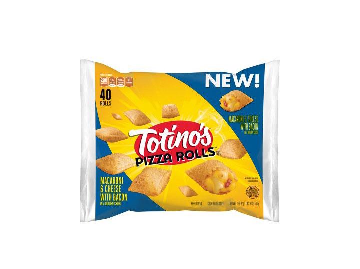 Totinos mac cheese bacon pizza rolls