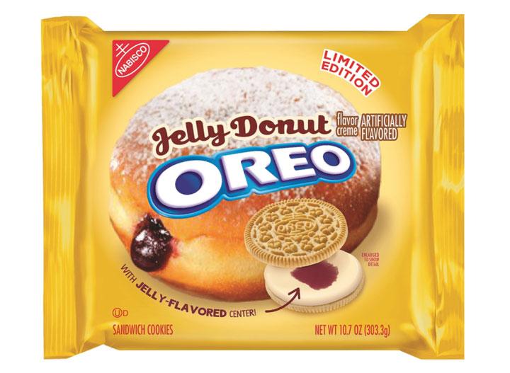 Jelly donut oreo