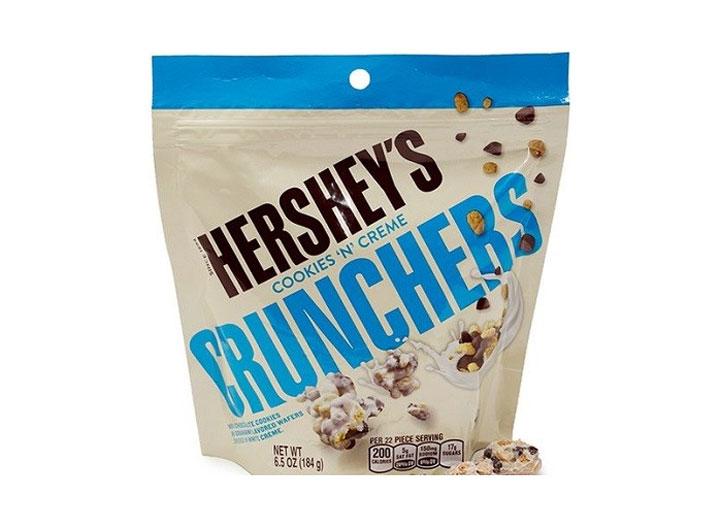 Hersheys cookies creme crunchers