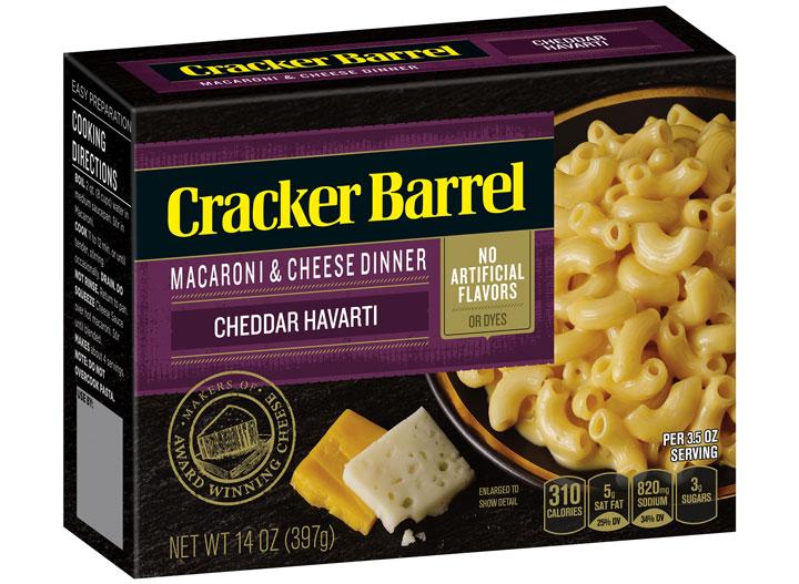 Cracker Barrel harvarti mac cheese