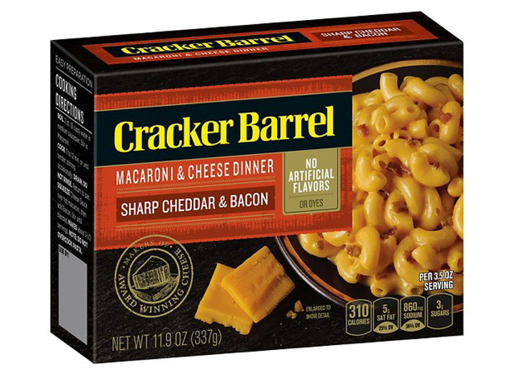 Cracker Barrel mac cheese sharp cheddar