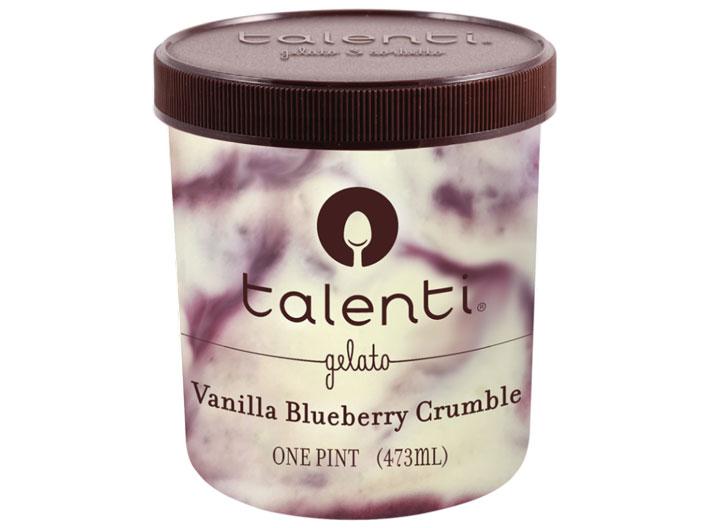 Talenti Vanilla Blueberry Crumble Gelato